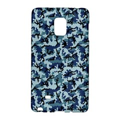 Navy Camouflage Galaxy Note Edge