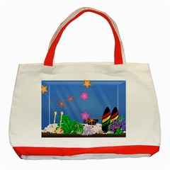 My Tank! Classic Tote Bag (Red)