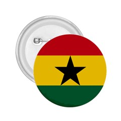 Flag of Ghana 2.25  Buttons