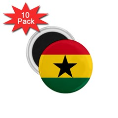Flag of Ghana 1.75  Magnets (10 pack)