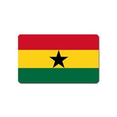 Flag of Ghana Magnet (Name Card)