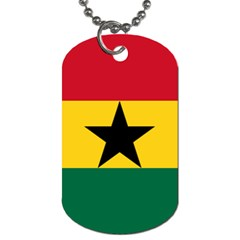 Flag of Ghana Dog Tag (Two Sides)