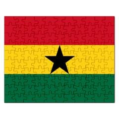 Flag of Ghana Rectangular Jigsaw Puzzl