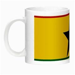 Flag of Ghana Night Luminous Mugs