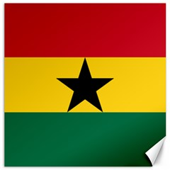 Flag of Ghana Canvas 12  x 12