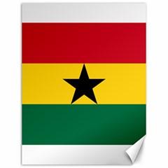 Flag of Ghana Canvas 12  x 16