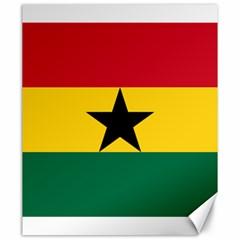 Flag of Ghana Canvas 20  x 24