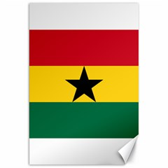 Flag of Ghana Canvas 20  x 30