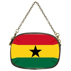Flag of Ghana Chain Purses (One Side)