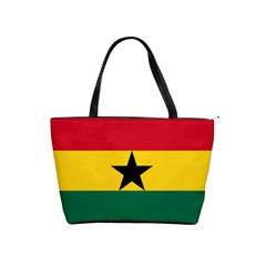 Flag of Ghana Shoulder Handbags