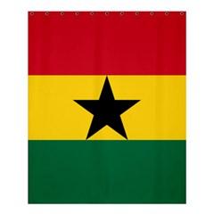 Flag of Ghana Shower Curtain 60  x 72  (Medium)