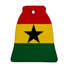 Flag of Ghana Bell Ornament (Two Sides)
