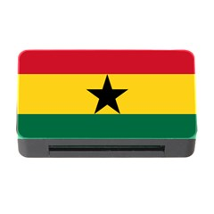 Flag of Ghana Memory Card Reader with CF