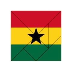 Flag of Ghana Acrylic Tangram Puzzle (4  x 4 )