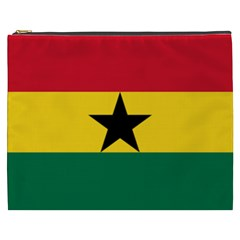 Flag of Ghana Cosmetic Bag (XXXL)