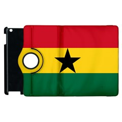 Flag of Ghana Apple iPad 2 Flip 360 Case