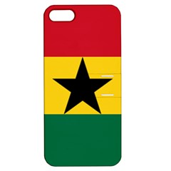 Flag of Ghana Apple iPhone 5 Hardshell Case with Stand