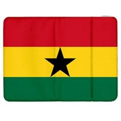 Flag of Ghana Samsung Galaxy Tab 7  P1000 Flip Case