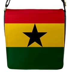 Flag of Ghana Flap Messenger Bag (S)