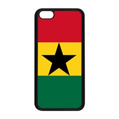 Flag of Ghana Apple iPhone 5C Seamless Case (Black)