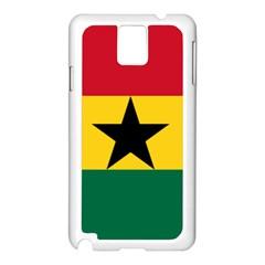 Flag of Ghana Samsung Galaxy Note 3 N9005 Case (White)