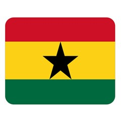 Flag of Ghana Double Sided Flano Blanket (Large)