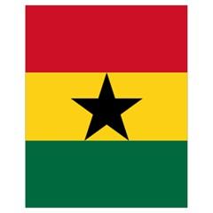 Flag of Ghana Drawstring Bag (Small)