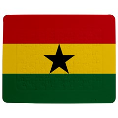 Flag of Ghana Jigsaw Puzzle Photo Stand (Rectangular)