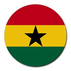 Flag of Ghana Round Mousepads