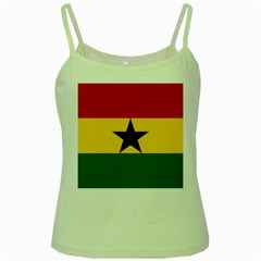 Flag of Ghana Green Spaghetti Tank