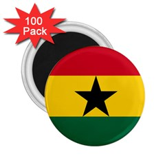 Flag of Ghana 2.25  Magnets (100 pack)