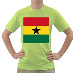 Flag of Ghana Green T-Shirt