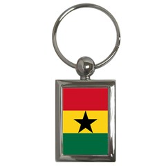 Flag of Ghana Key Chains (Rectangle)