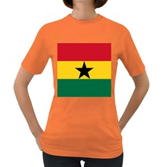 Flag of Ghana Women s Dark T-Shirt