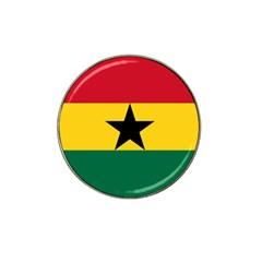 Flag of Ghana Hat Clip Ball Marker (4 pack)