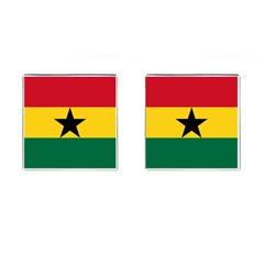 Flag of Ghana Cufflinks (Square)