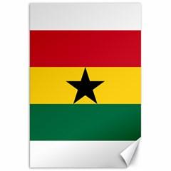 Flag of Ghana Canvas 20  x 30