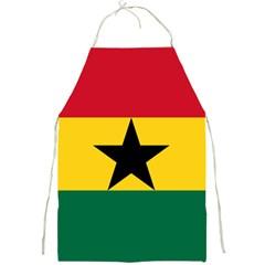 Flag of Ghana Full Print Aprons