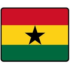 Flag of Ghana Fleece Blanket (Medium)
