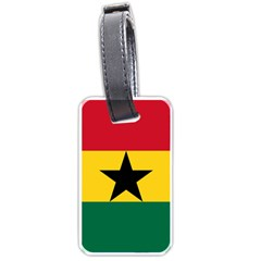 Flag of Ghana Luggage Tags (One Side)