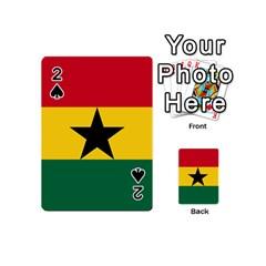 Flag of Ghana Playing Cards 54 (Mini)