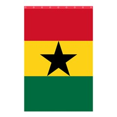 Flag of Ghana Shower Curtain 48  x 72  (Small)