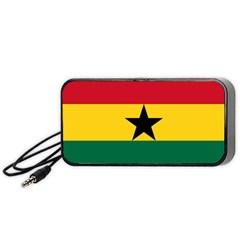 Flag of Ghana Portable Speaker (Black)