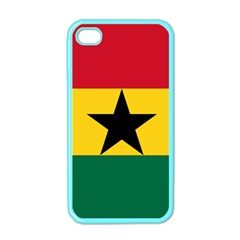 Flag of Ghana Apple iPhone 4 Case (Color)
