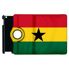 Flag of Ghana Apple iPad 3/4 Flip 360 Case