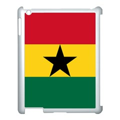 Flag of Ghana Apple iPad 3/4 Case (White)