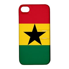 Flag of Ghana Apple iPhone 4/4S Hardshell Case with Stand