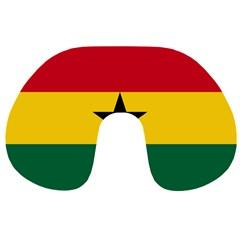 Flag of Ghana Travel Neck Pillows