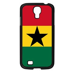 Flag of Ghana Samsung Galaxy S4 I9500/ I9505 Case (Black)