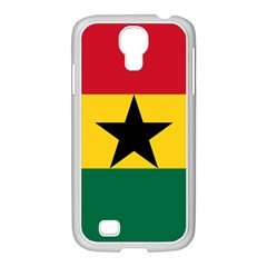 Flag of Ghana Samsung GALAXY S4 I9500/ I9505 Case (White)